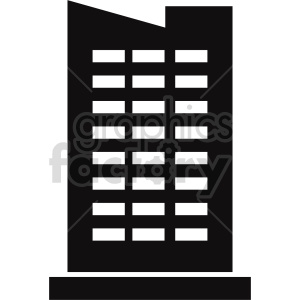 skyscraper vector clipart clipart. Commercial use image # 416485