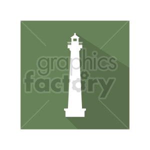 tall lighthouse vector graphic clipart. Commercial use image # 416498