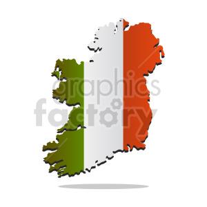 clipart - ireland country vector clipart.