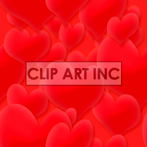 091605-hearts_light clipart. Royalty-free image # 128119