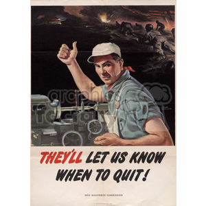 war posters world II   MPW00014 Clip Art Old War Posters