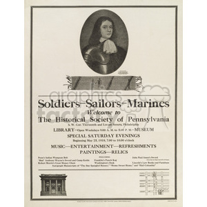 old war posters clipart. Royalty-free image # 153335