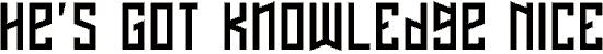 nafta font. Royalty-free font # 174861
