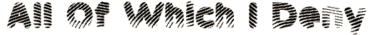 pantspat font. Royalty-free font # 174871