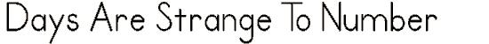 primer font. Royalty-free font # 174881