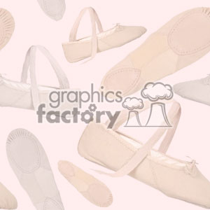 ballet  slipper background  clipart. Royalty-free image # 371319