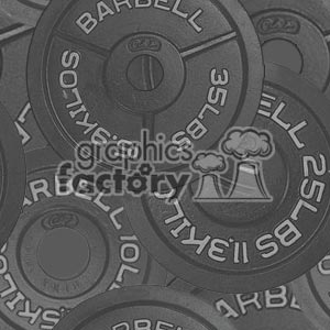 102906-barbells-light clipart. Royalty-free image # 372177