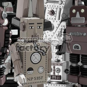 102906-robots-light background. Commercial use background # 372195