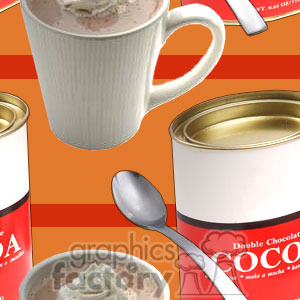 120506-cocoa clipart. Commercial use image # 372620
