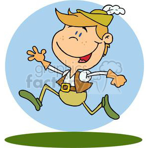 Lord A leaping clipart. Royalty-free image # 377878