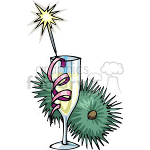 glass of wine clipart. Royalty-free image # 145231