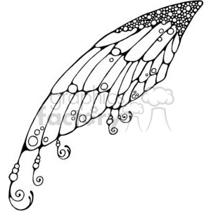 Fairy Wing clipart. Royalty-free image # 380197