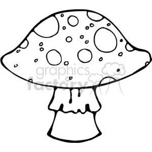 Bitty-Mushroom clipart. Royalty-free image # 380202