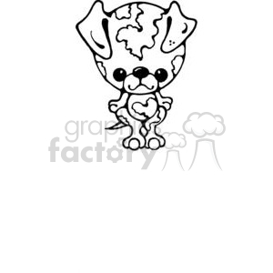 chihuahua clipart. Commercial use image # 380237