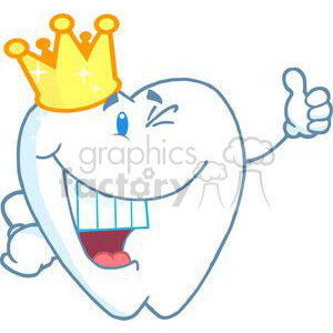 2974-smiling-tooth-cartoon-character-with-golden-crown