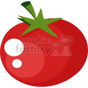 2885-Red-Tomato clipart. Royalty-free image # 380497