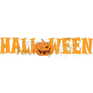 3104-Halloween-Sign clipart. Commercial use image # 380606