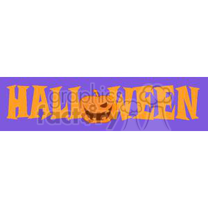 3105-Halloween-Sign clipart. Commercial use image # 380661