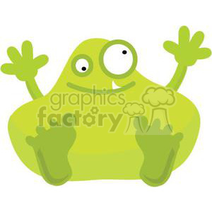 monster-v2 clipart. Royalty-free image # 380781