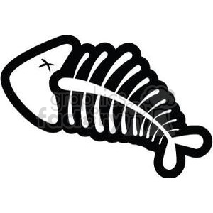 dead fish clipart. Royalty-free image # 380786