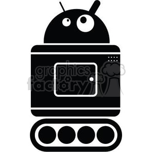 droid the robot clipart. Royalty-free image # 380801