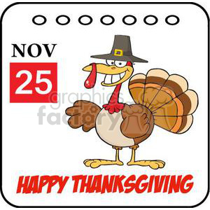 cartoon funny Holidays vector Thanksgiving turkey turkeys bird birds pilgrim happy November 25th 25