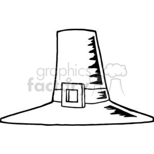 Pilgram Hat clipart. Commercial use image # 381017