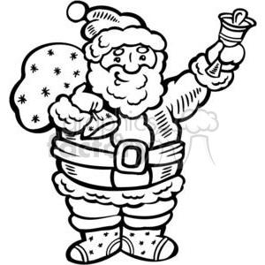 Santa clipart. Royalty-free image # 381071