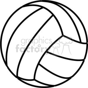 volleyball-6 clipart. Commercial use image # 381186