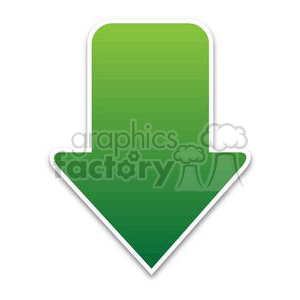 download-arrow-1-green clipart. Royalty-free image # 381613
