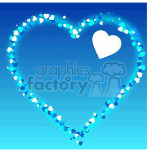 heart made of hearts clipart. Royalty-free image # 381708