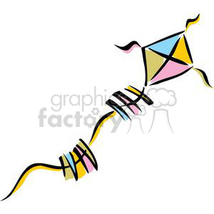 Kite clipart. Commercial use image # 159248