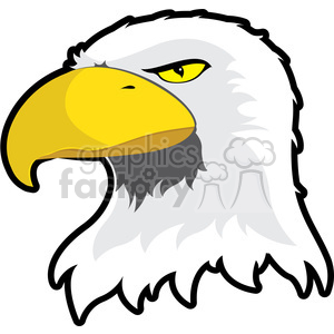 Eagle Mascot clipart. Royalty-free image # 384869