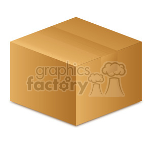 closed box clipart. Royalty-free image # 385531