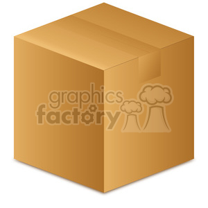 clipart - taped box.