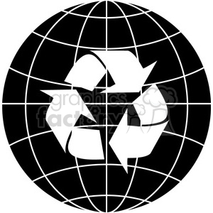 recycled earth 009 clipart. Royalty-free icon # 386166