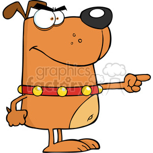 5209-Angry-Dog-Angry-Finger-Pointing-Royalty-Free-RF-Clipart-Image clipart. Royalty-free image # 386205