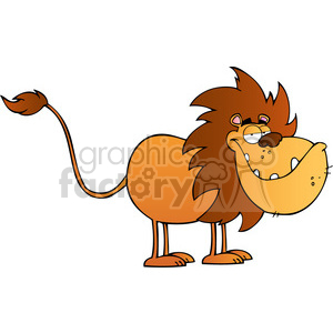 5059-Lion-Cartoon-Character-Royalty-Free-RF-Clipart-Image clipart. Royalty-free image # 386295