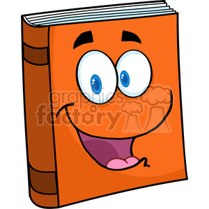 Royalty Free Vector Images on 5188 Text Book Cartoon Mascot Character Royalty Free Rf Clipart Image