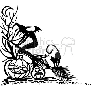 Halloween clipart illustrations 040 clipart. Royalty-free image # 387088