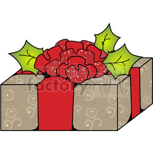Christmas Gift 03 clipart. Royalty-free image # 387718