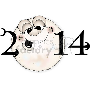 2014 full moon night clipart clipart. Commercial use image # 388025
