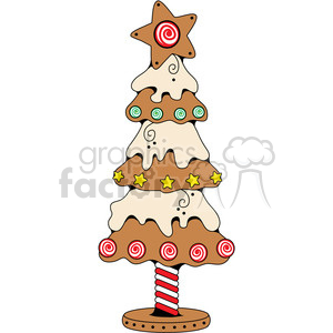 cartoon Christmas tree trees Christmas+tree