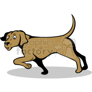 confused dog clipart. Royalty-free image # 388344
