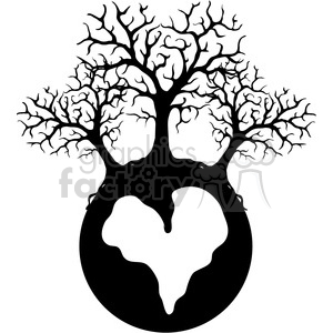 TREE Valentine Ball clipart. Royalty-free image # 388532