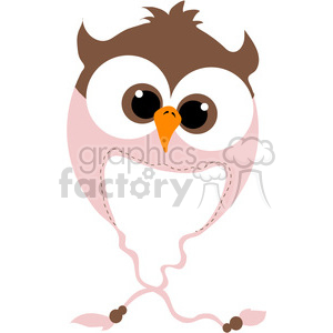Owl Bomber Beanie Hat clipart. Royalty-free icon # 388562