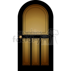 Door 04 clipart. Royalty-free image # 388592