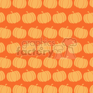 6645 Royalty Free Clip Art Pumpkin Background Seamless Pattern clipart. Royalty-free image # 389751