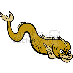 angry eel clipart. Royalty-free icon # 389964