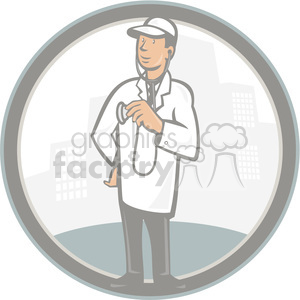 veterinarian animal doctor clipart. Royalty-free image # 389984